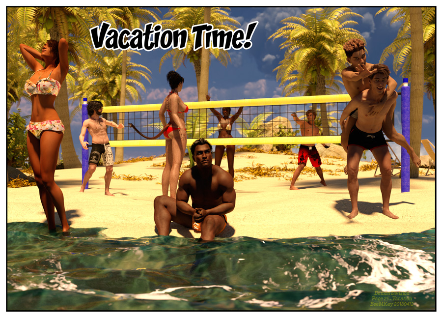 Behind the scenes: Vacation Time!