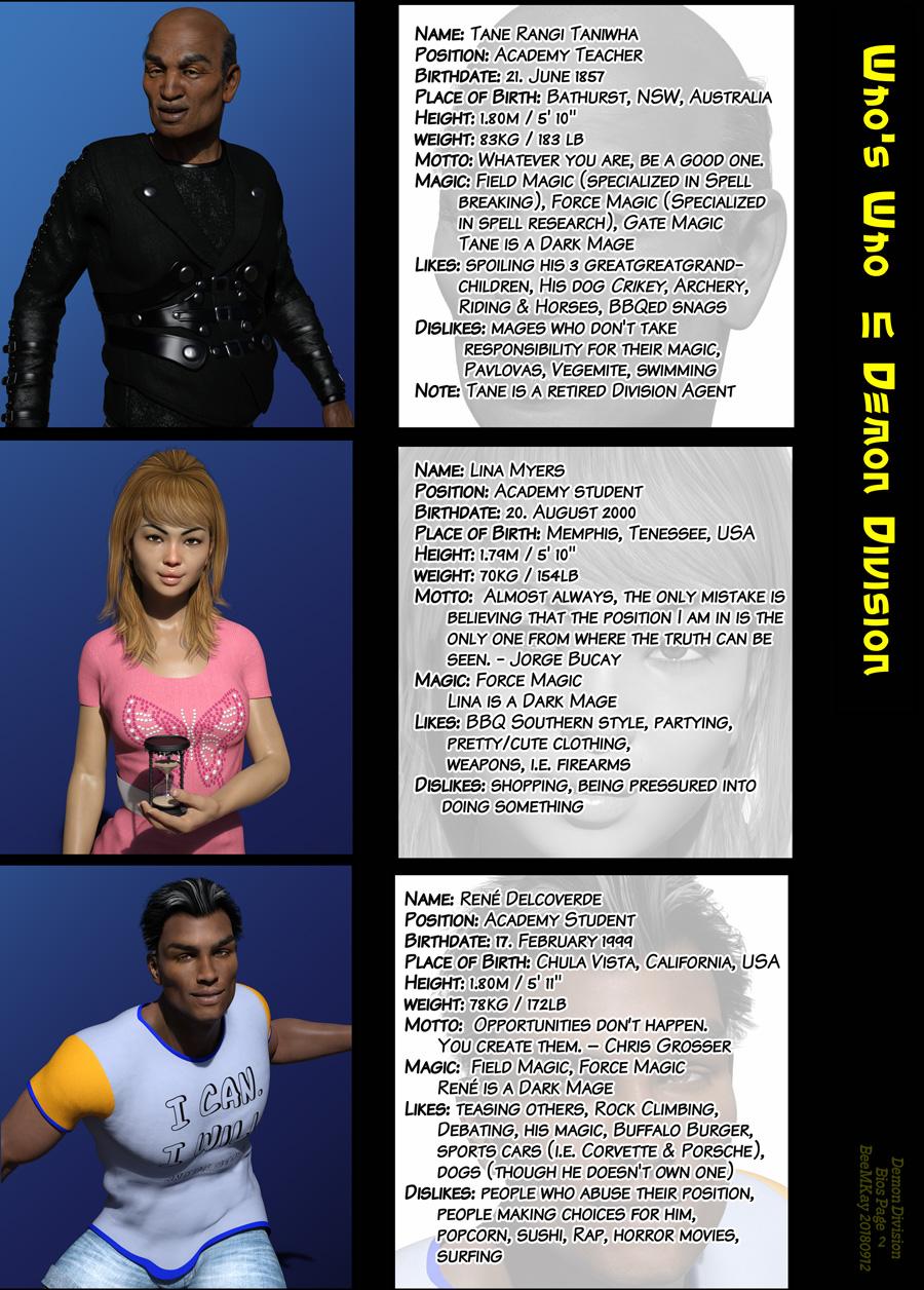 Character-Infos II